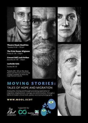 Moving stories flyer